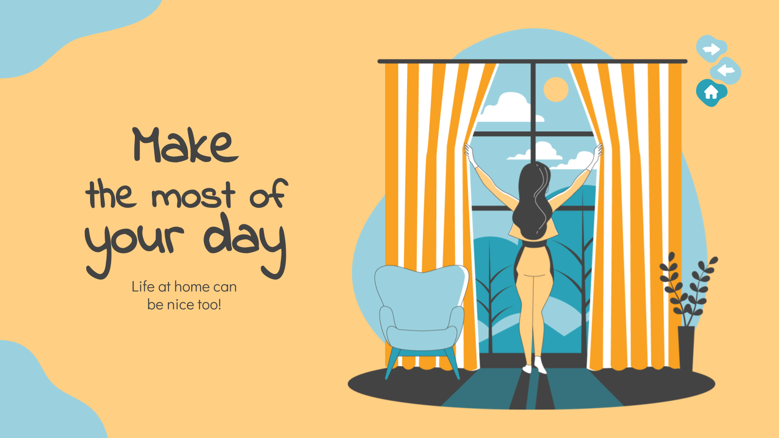 Make the Most of Your Day presentation template
