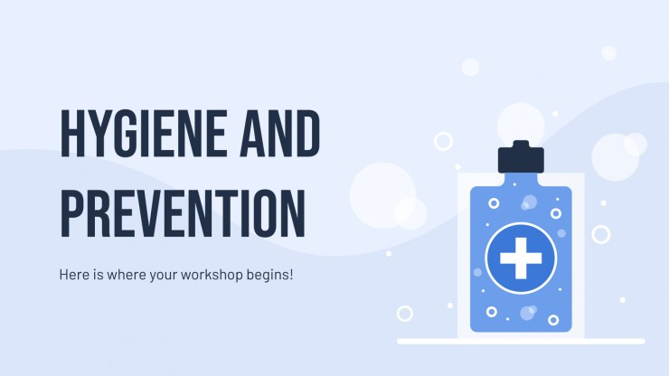 Hygiene and Prevention presentation template