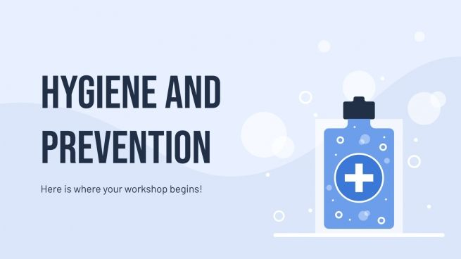 Modelo de apresentação Higiene e prevenção