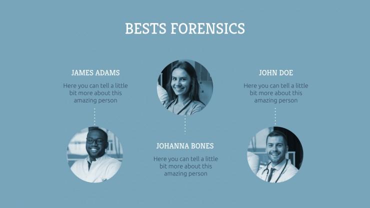 Modelo de apresentação Trabalho de medicina forense