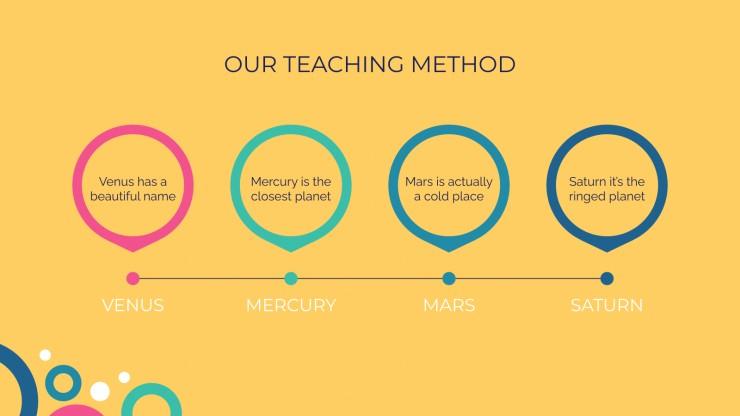 Plantilla de presentación Escuela de idiomas