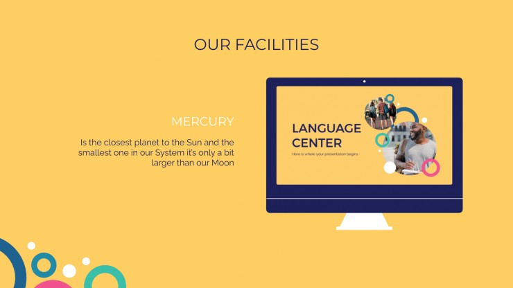 Modelo de apresentação Escola de idioma