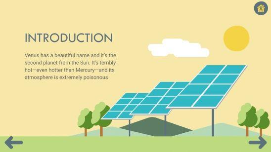 Solar Challenge Board for Teachers presentation template