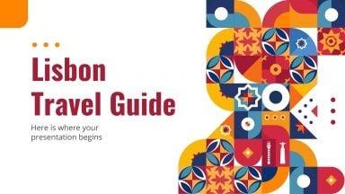 Lisbon Travel Guide presentation template
