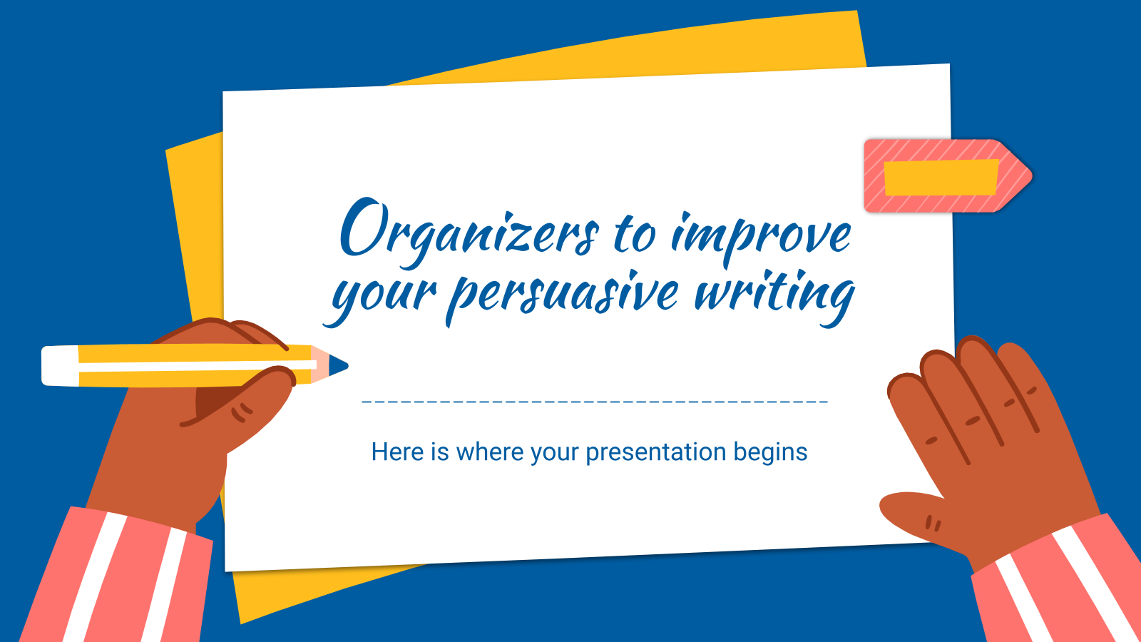 Organizers to Improve Your Persuasive Writing presentation template