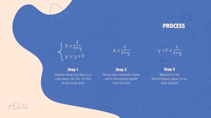Modelo de apresentação Aula de matemática