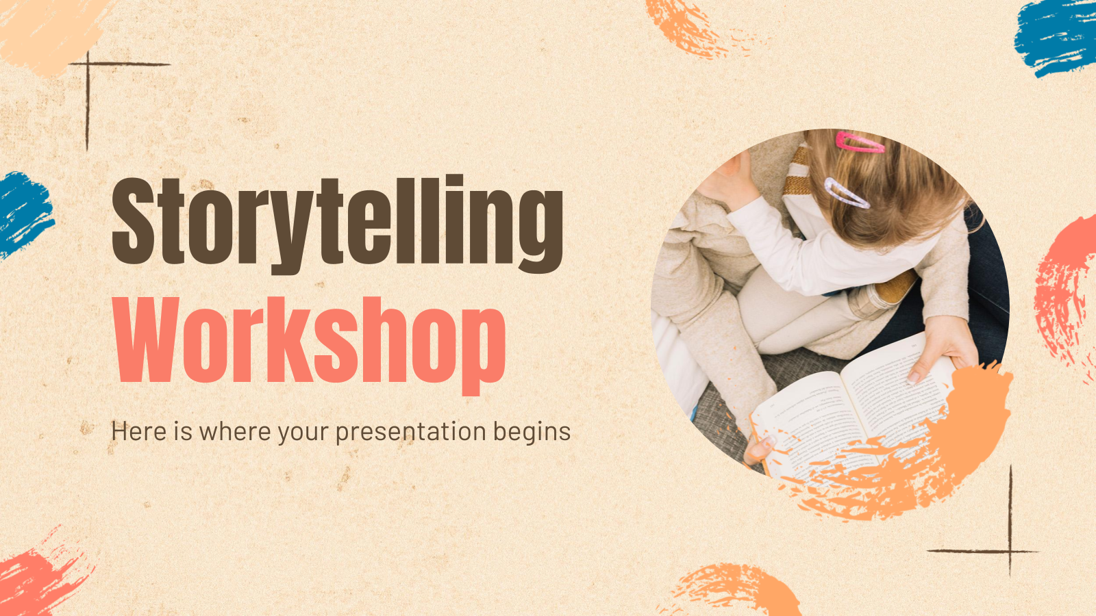 Storytelling Workshop presentation template