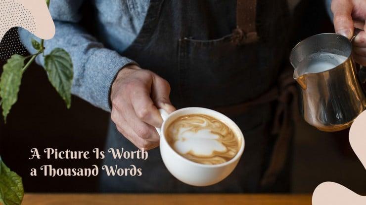 Les bonnes ondes du café : Modèles de présentation