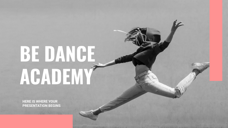 Be Dance Academy Presentation - Free Google Slides theme and Powerpoint template