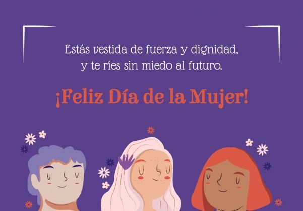 Alles Gute Zum Weltfrauentag! Präsentationsvorlage