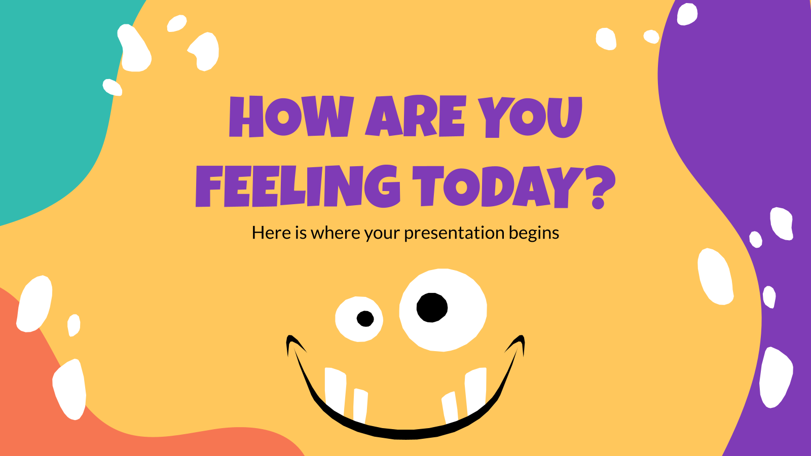 Comment vous sentez-vous aujourd'hui ? : Modèles de présentation