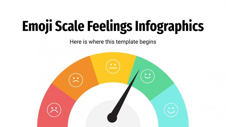 Emoji Scale Feelings Infographics presentation template