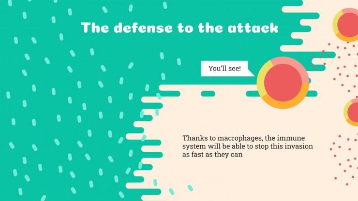 The Immune System Breakthrough presentation template