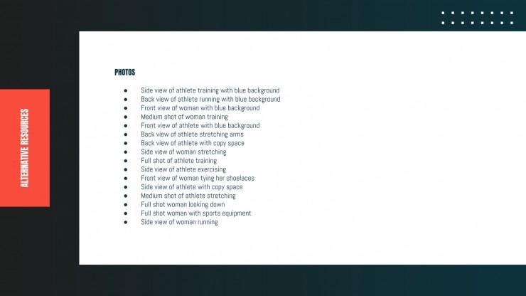 Gym Sport Business Plan presentation template