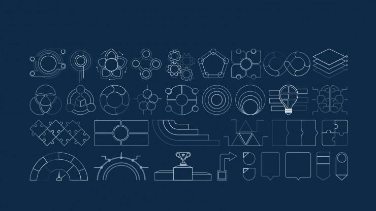 Modelo de apresentação Plano de negócios de academia