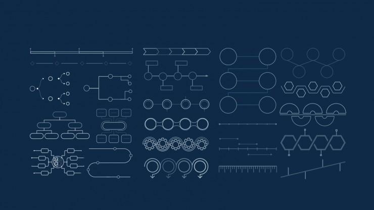Plantilla de presentación Diseño moderno para defensa de tesis