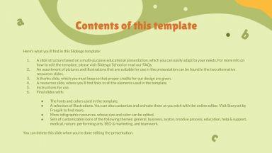 Quick Reading & Comprehension Skills presentation template