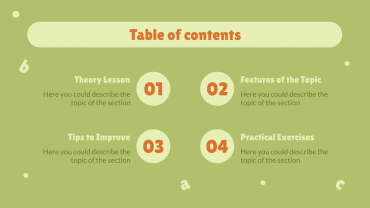 Plantilla de presentación Comprensión lectora