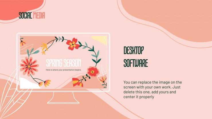 Le printemps : Modèles de présentation