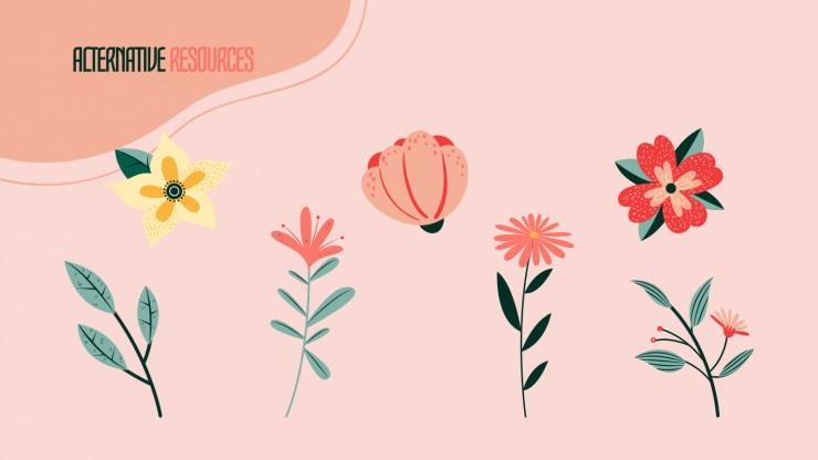 Frühling Präsentationsvorlage