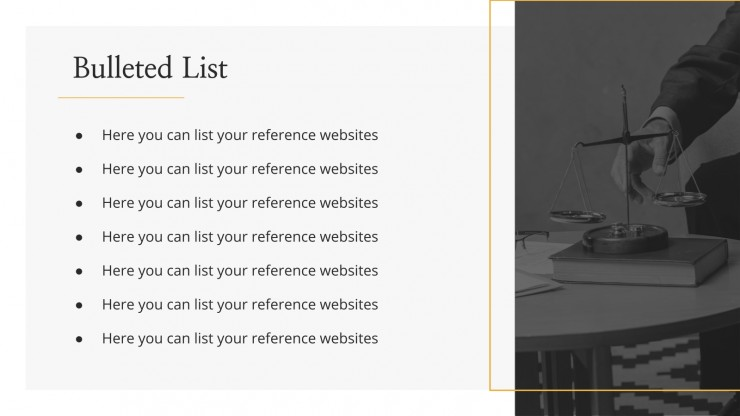 Suits & Lawyers Firm Profile presentation template