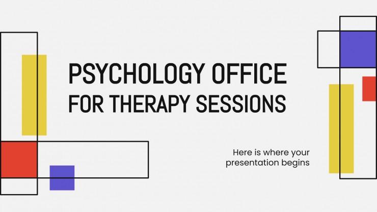 Plantilla de presentación Sesiones de terapia y psicología