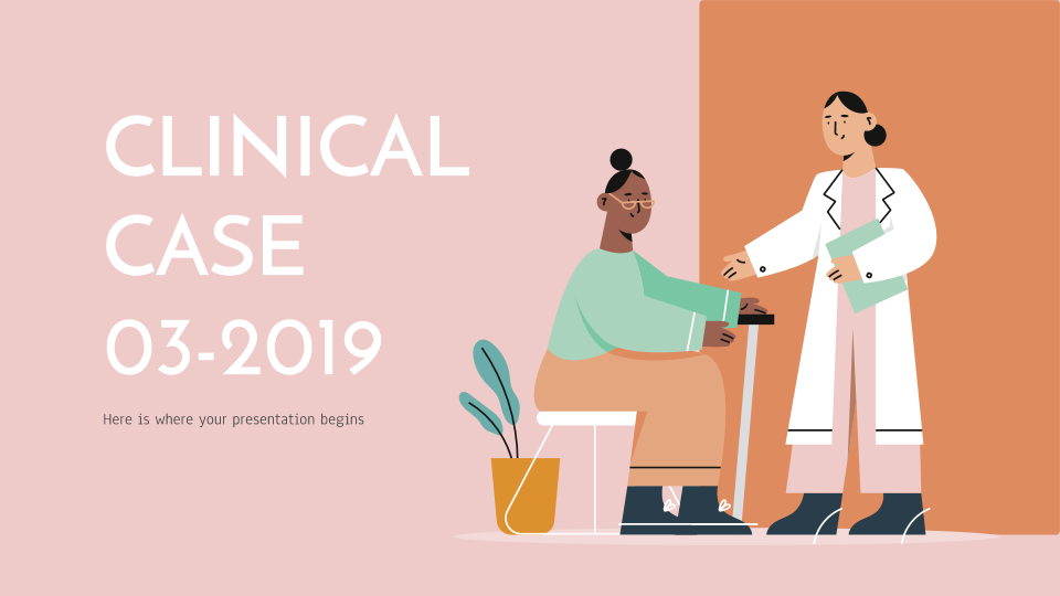 Clinical Case 03-2019 Presentation - Free Google Slides theme and Powerpoint template