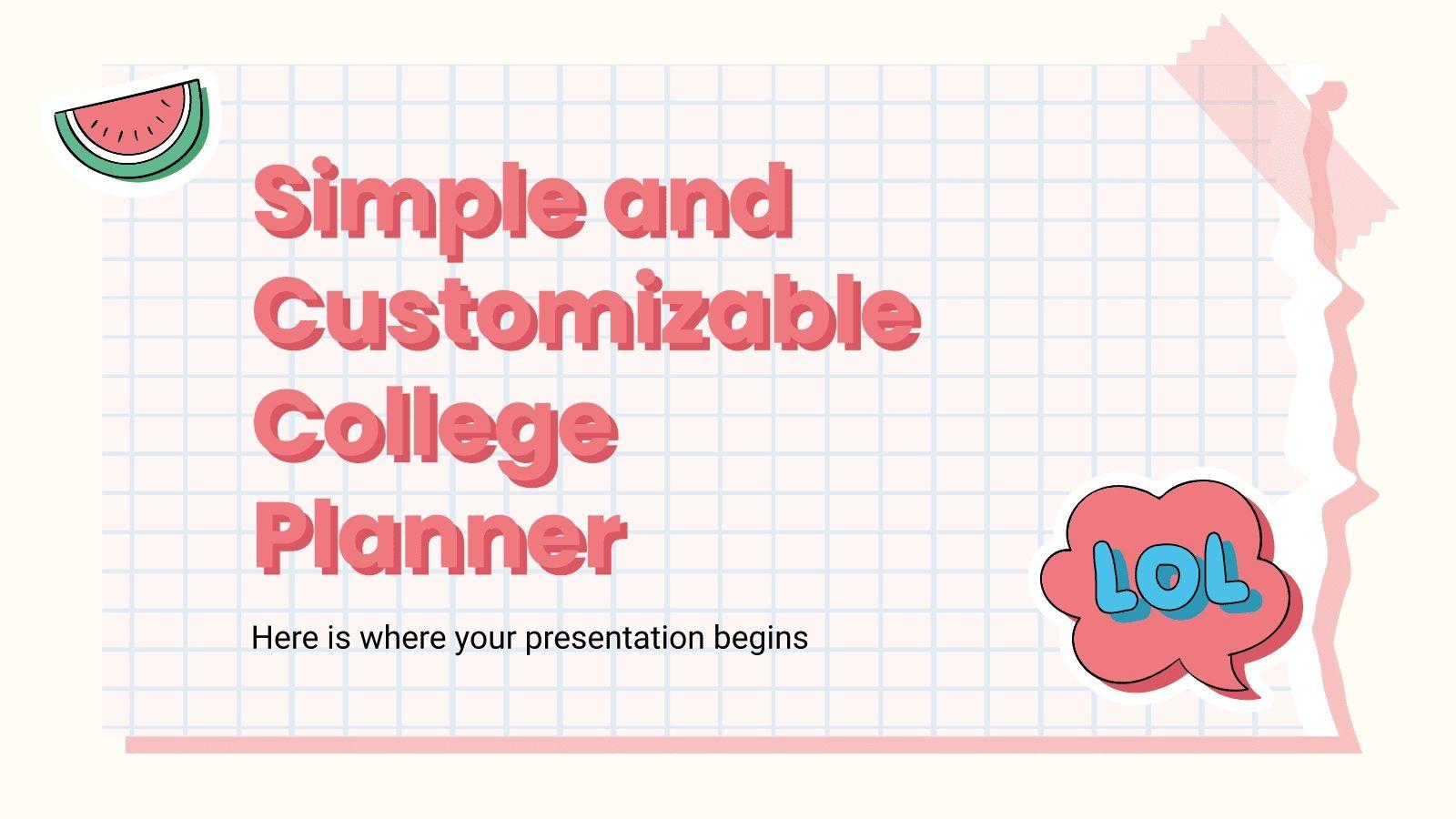 free online weekly planner template