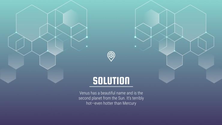 Modelo de apresentação Startup tecnológica