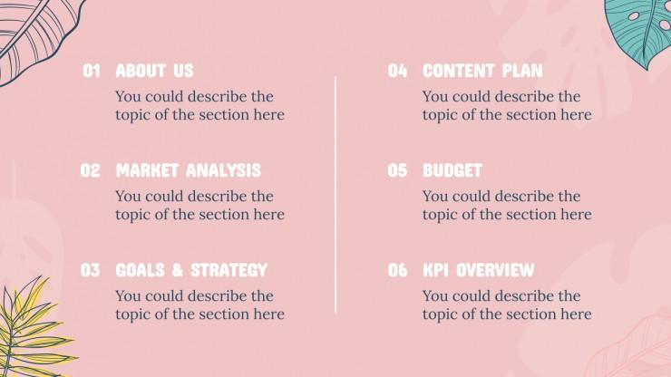 Summer Campaign presentation template