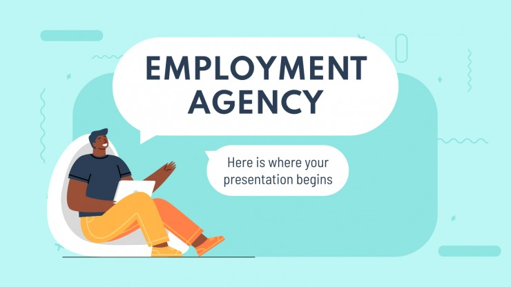 Modelo de apresentação Agência de empregos
