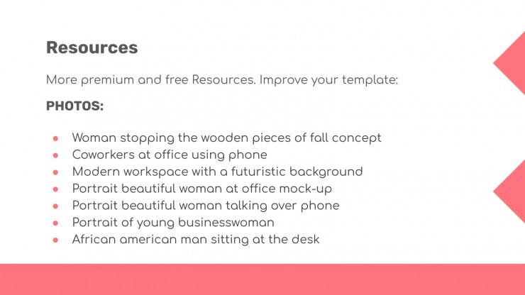 Tanger presentation template