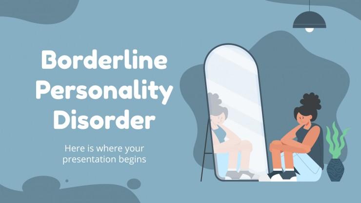 Trouble de la personnalité borderline : Modèles de présentation