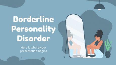 Plantilla de presentación Trastorno límite de la personalidad