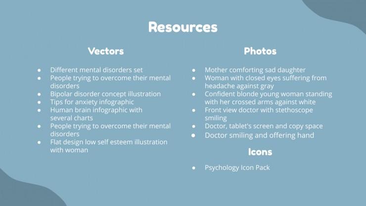 Borderline Personality Disorder presentation template