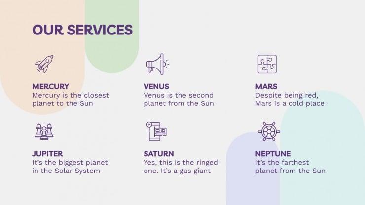 Modelo de apresentação Plano de negócios de parque de diversões