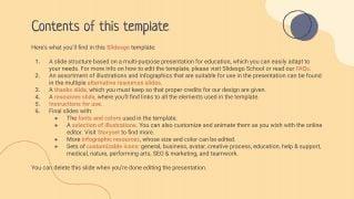 Planificateurs et calendriers d'éducation simples : Modèles de présentation