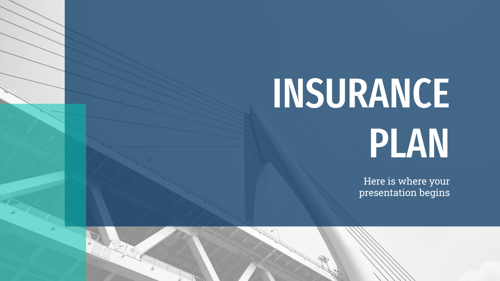 Insurance Plan presentation template