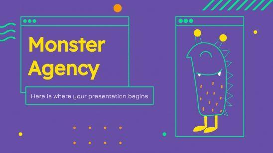 Agence monstres : Modèles de présentation