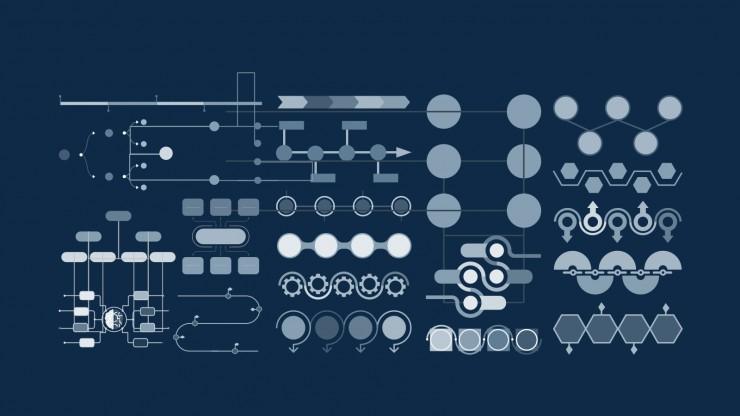 Pitch Deck arrière-plan moderne liquide 3D : Modèles de présentation