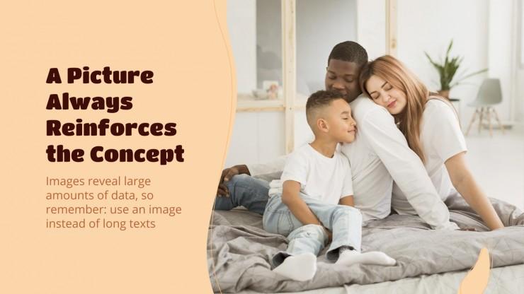 Family presentation template
