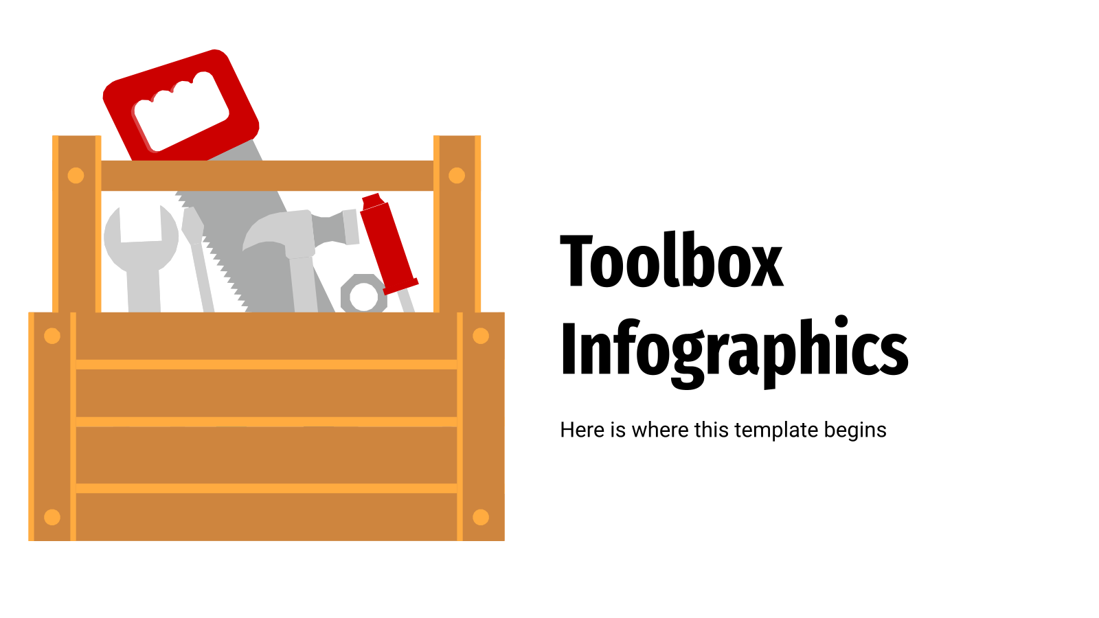 Toolbox Infographics presentation template