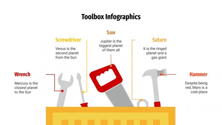 Toolbox Infographics presentation template
