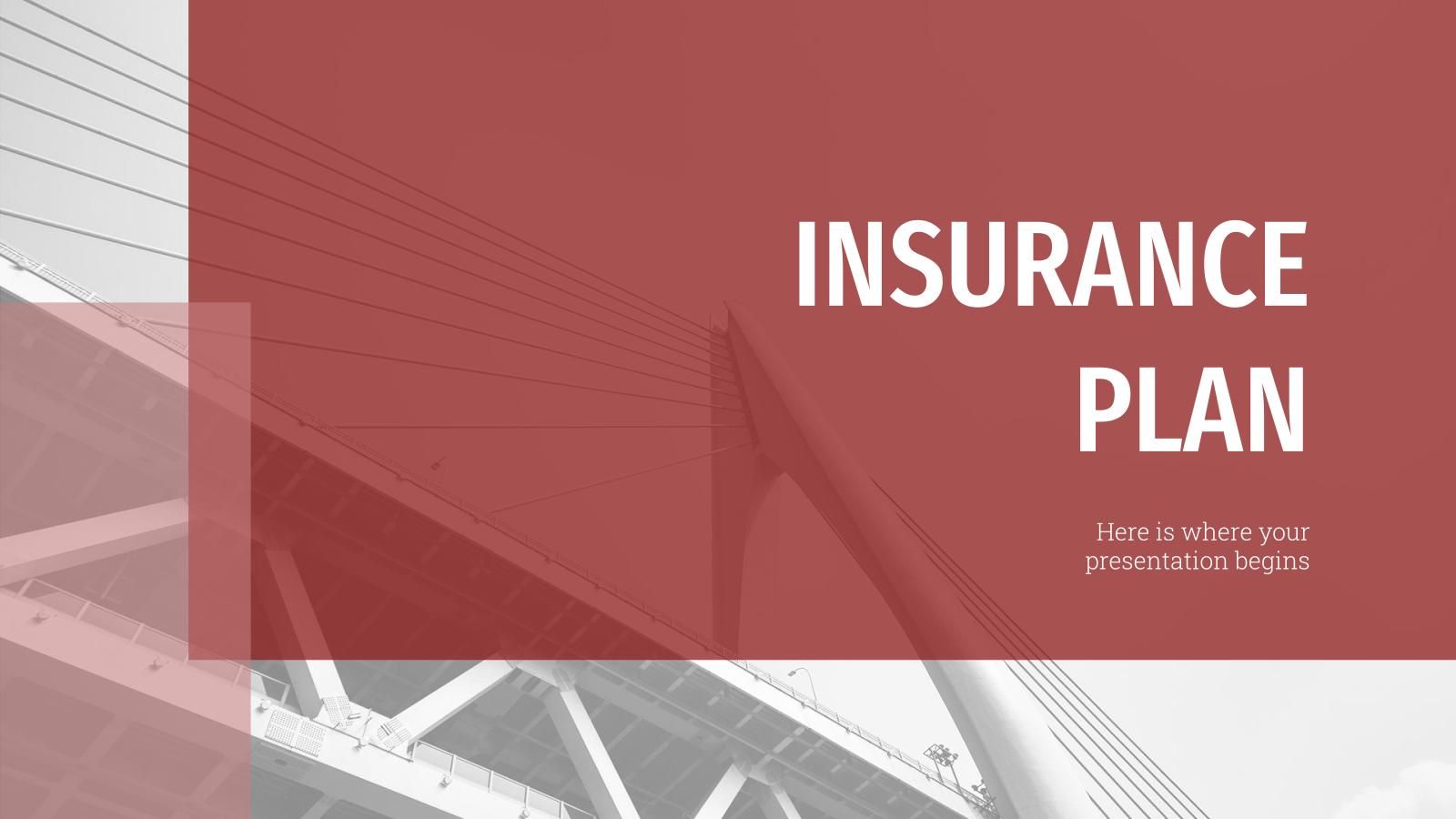 Modelo de apresentação Plano de seguros