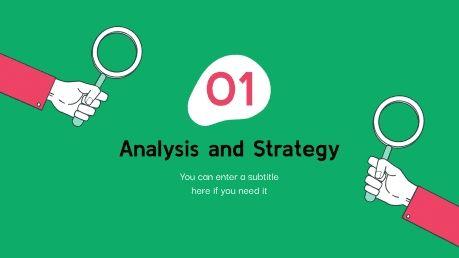 SEO Audit Proposal presentation template
