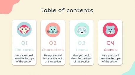 Fiches d'apprentissage : Modèles de présentation