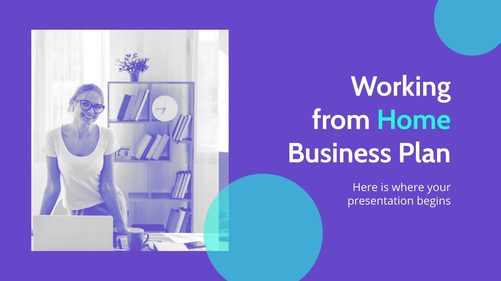 Business plan et télétravail : Modèles de présentation