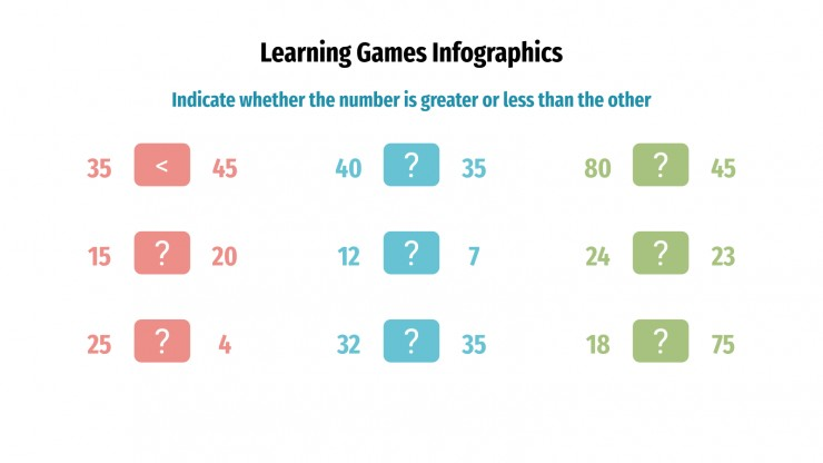 Learning Games Infographics presentation template