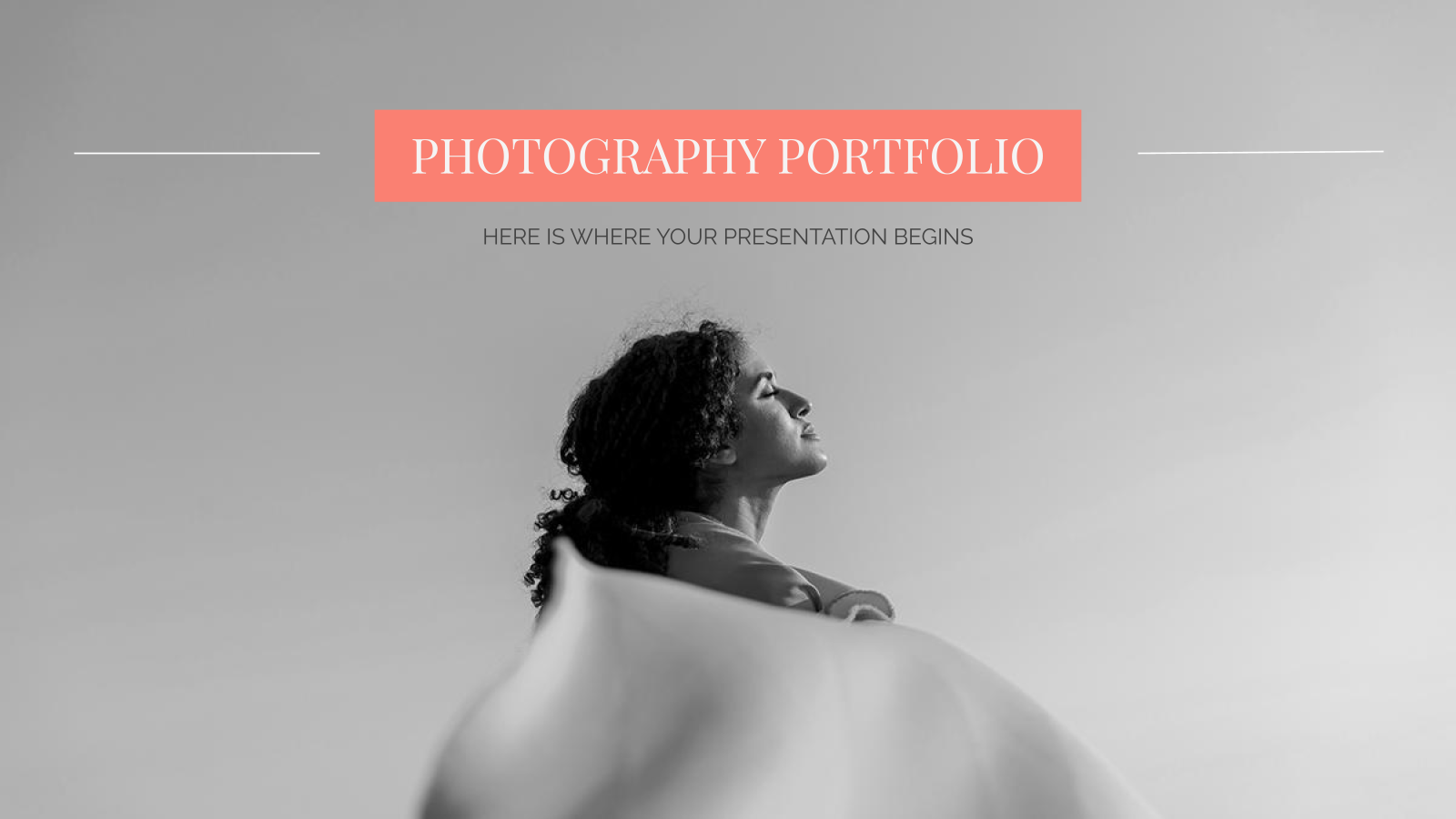 Photography Portfolio presentation template