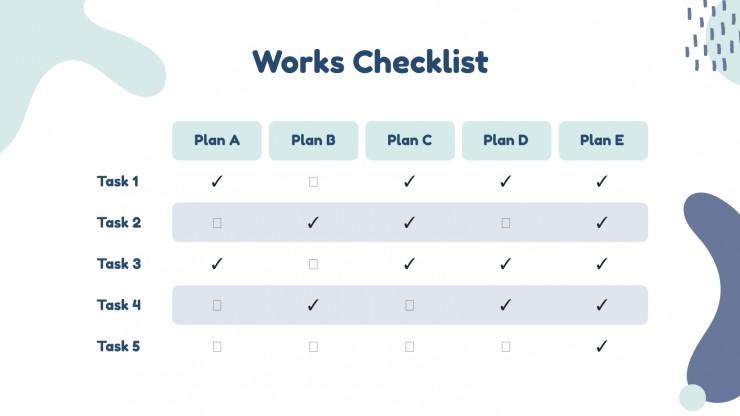 Plantilla de presentación Reunión para planificar una conferencia